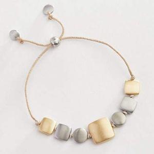 J. Jill Hand-Brushed Squares Bracelet